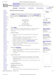 Cool Resume Format For Medical Representative Pdf Pictures