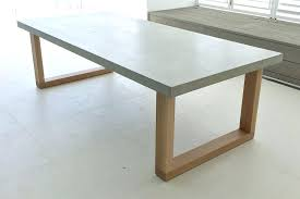concrete dining table polished concrete dining table 3 concrete top outdoor dining table
