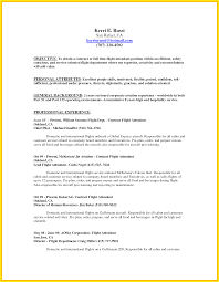 Flight Attendant Resume Experience Gorgeous Picture For Studiootb