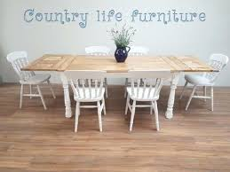 extendable farmhouse table. Extendable Farmhouse Table Rustic And Chairs R