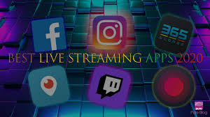 تطبيقات بث مباشر |تعرف على أفضل تطبيقات البث المباشر الموجودة حتى الآن