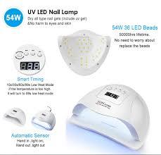 Uv Led Nail Lamp Rigadelle Beauty