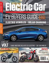 Electric Car News From Electric Car Insider Magazine