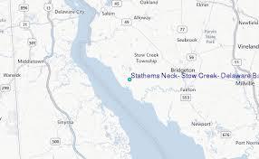Stathems Neck Stow Creek Delaware Bay Delaware Tide