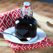 elderberry syrup recipe homemade colds flu coughs natural remedy ginger cinnamon cloves children kids s raw