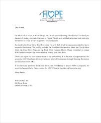 Donor Letter Samples Rome Fontanacountryinn Com