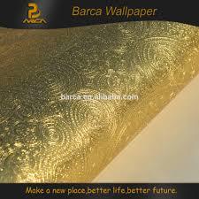 Diep Reliëf Goud Metallic Pvc Behang Behang Buy Goud Metallic