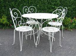 wrought iron wicker outdoor furniture white. Craigslist Patio Furniture By Owner White Wrought Iron Wicker Outdoor V