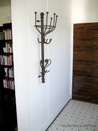Coat And Hat Racks Wall Mounted Two Men and a Little Farm WALL MOUNTED COAT RACK 18