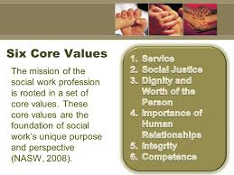 Social Work Values Social Work A Growing Profession Ppt Download