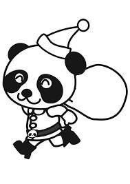 Kleurplaat Schattige Pandabeer Ausmalbild Pandamutter Mit Sem