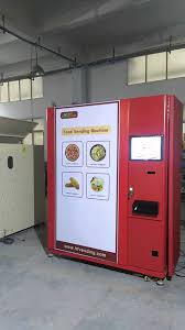 Automated Pizza Maker Vending Machine Awesome Chinese Pizza Vending Machine YouTube