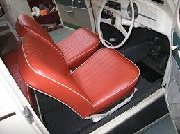 arthur s front seats painted frames