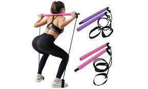 off on home gym kit pilates bar exer