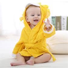 <b>Baby Hooded Animal</b> Cartoon <b>Bathrobe</b>