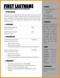Awesome 8 Free Cv Template Microsoft Word Culturatti