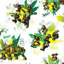 Ninja Turtles Behang Rol 10 Meter 53cm Breed Multi Colour