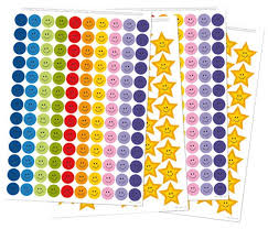 Gold Star Sticker Chart Reusable Reward Stickers For Good Behavior Positive