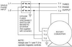 three phase converter wiring diagram images phase a matic inc rotary phase converter installation