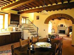 Tuscan Home Interiors Set Custom Decoration
