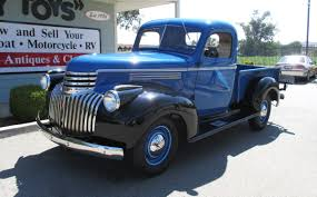 1941 Chevrolet 1/2 Ton Pick Up Truck