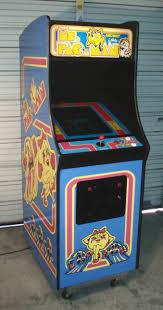 Ms Pacman Cabinet Ms Pac Man Arcade Video Game Machine Aceamusementsus