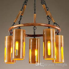 pendant light creative bamboo chandelier personalized retro southeast asia industrial chandeliers theme restaurant aisle cafe club bar plug in hanging lamp