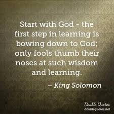 King Solomon Quotes Magnificent King Solomon Wisdom Quotes Double Quotes