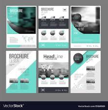 Templates For Brochure Six Trendy Brochures Templates