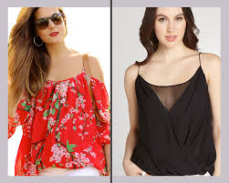 Spaghetti Blouse Designs Top 80 Types Of Blouse Design Patterns For Fashion Stylish Women