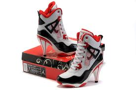 jordan shoes for girls black and white. 2017 new free shippingcheap buy air jordan 4 high heels girls shoes white black red f8708 for and n