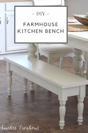 diy kitchen bench stylish diy farmhouse timeless creations llc inside 1