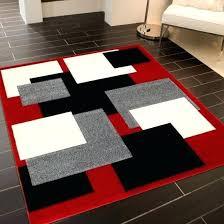 black geometric rug modern geometric rug in red black and grey black geometric rug