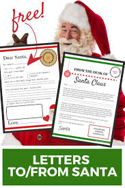 Letters To and From Santa: Free Printables - Simply September