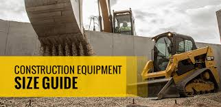 Mini Excavator Size Chart Construction Equipment Size Guide Warren Cat