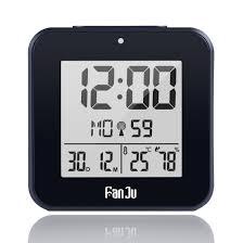fanju fj3533b small digital alarm clock battery operated wit