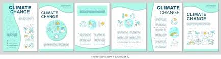 Buy Brochure Templates Climate Change Brochure Template Layout Buy This Stock