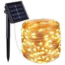 Designer Garden Lights Mesmerizing AMIR Solar Powered String Lights 48 LED Copper Wire Lights Starry