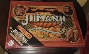 Wooden Jumanji Board Game NEW JUMANJI BOARD GAME CARDINAL EDITION REAL WOODEN WOOD BOX 18