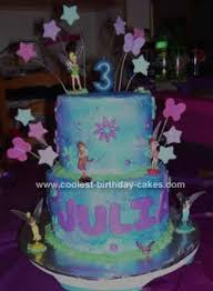 Coolest Tinkerbell Cake Design