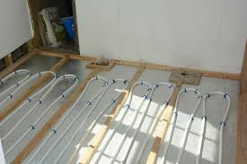 under floor heating engineered