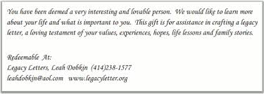 Leah Dobkin Soul Of A Port Legacy Letters