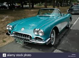 1950's Chevrolet Corvette convertable roadster on show at the ...