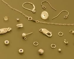 14 karat gold findings