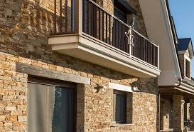 3 types of natural stone facade systems
