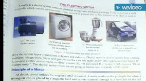 electric motor physics. Class 10 Physics Ch-2 Magnetism In Human Being, S Chand Electric Motor