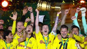 Borussia dortmund's home form is excellent with the following results : Dfb Pokal Borussia Dortmund Gewinnt Finale Gegen Rb Leipzig