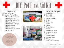 diy first aid kits for pets