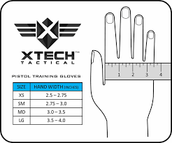 Pistol Size Chart Xtech Tactical Releases The Pistol Training Gloves Soldier