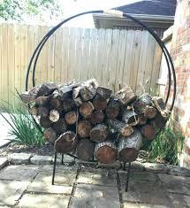 diy firewood rack outdoor firewood rack diy log rack cover